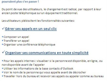 Simplifiez vos communications